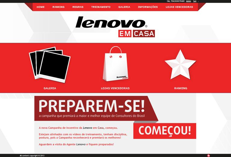 Promoção Lenovo em Casa